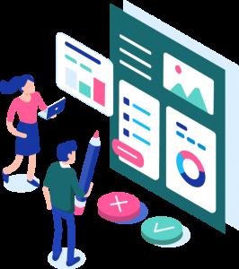 Création de site internet, web design sur mesure, maquettes graphiques, identité graphique de votre site vitrine ou site e-commerce
